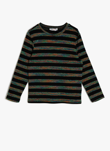Koton Kids Sim Detaylı T-Shirt Yeşil